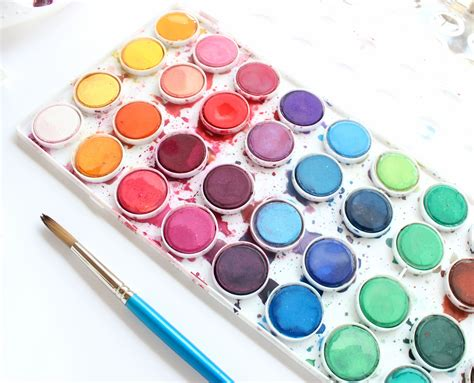 what color is water watercolor inspiration by hinderliter sculpeysculpey