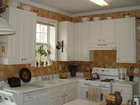 Ideas For Decorating On Top Of Kitchen Cabinets Decorate Tops Of Kitchen Cabinets For Decobizz