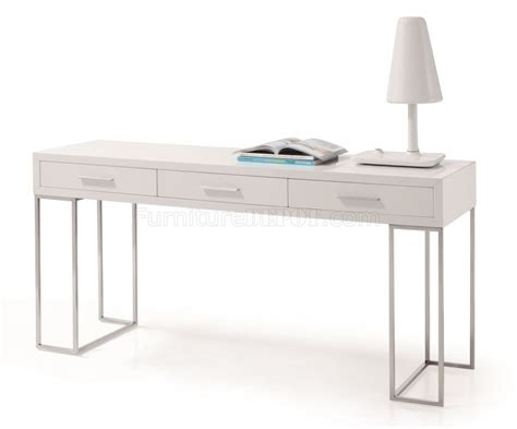 white office desk with drawers sg02 modern office desk by j m in white w 3 drawers