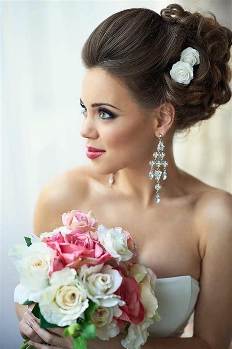 Hochzeitsfrisur Volumen by 55 Brautfrisuren Stilvolle Haarstyling Ideen F 252 R Lange Haare