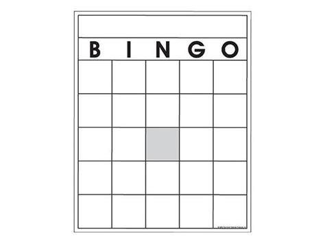 Blank Bingo Card Template Pdf by Blank Bingo Cards Newegg