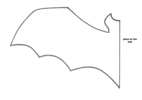 bat template bat stencil cliparts co