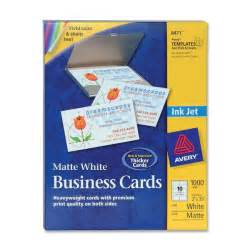 avery business card size avery inkjet business cards white matte a8 2 quot x 3 50