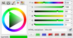gimp color picker create gradient for color selection with html5 canvas all