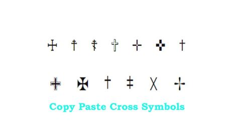 tattoo emoji copy and paste cross text symbol just copy and paste it in text cool