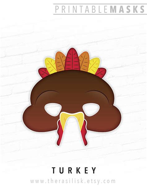 printable turkey costume printable turkey mask thanksgiving mask printable bird mask