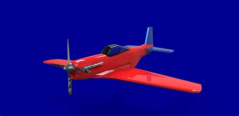 P 51 Mustang Autocad by P51 Mustang Free 3d Model Dwg Cgtrader