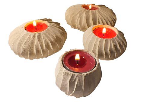 candele scolpite quartetto di porta candele in pietra leccese madrepora