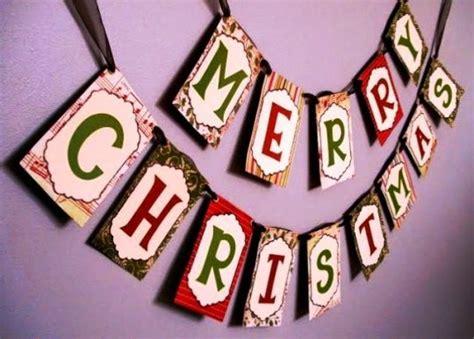 tutorial cara membuat hiasan natal cara mudah membuat hiasan merry christmas untuk natal