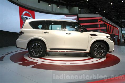 Nissan Patrol Nismo At Dims 2015 Indian Autos Blog