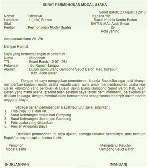 Contoh Surat Pengunduran Diri Ketua Karang Taruna