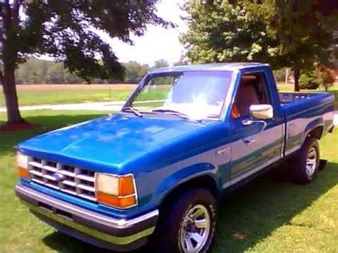 1992 ford ranger 2.9l v6 youtube