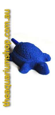 blue aquarium air stone turtle 42x54mm the aquarium shop