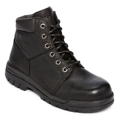 jcpenney work boots wolverine 174 sr marquette steel toe s work boots jcpenney