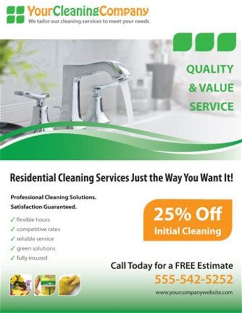 How To Advertise A Cleaning Business Promote Your Cleaning Company With This House Cleaning