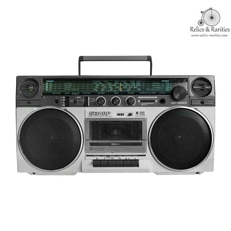 audio cassette player sharp gf 5959e stereo cassette player radio relics and