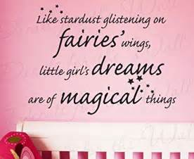 Inspirational quotes on wall decals for baby s nursery room for girl