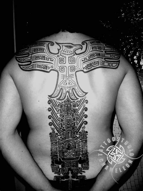 aztec bird tattoo aztec images designs