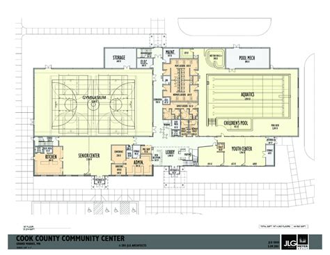 community center floor plan sro at community center public meeting wtip north shore
