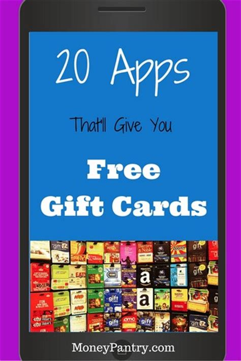 20 apps that give you gift cards amazon itunes target moneypantry - Apps To Earn Gift Cards