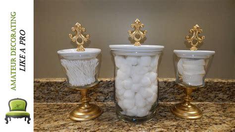 bathroom vase diy bathroom canisters using dollar tree dollar general