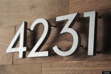 address house numbers pin illuminated house numbers on pinterest