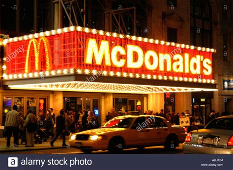 what time does mcdonalds mcdonald s restaurant in times square manhattan new york