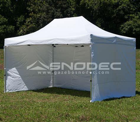 gazebo 3x4 5 gazebo pieghevole 3x4 5 bianco alluminio 40mm con teli