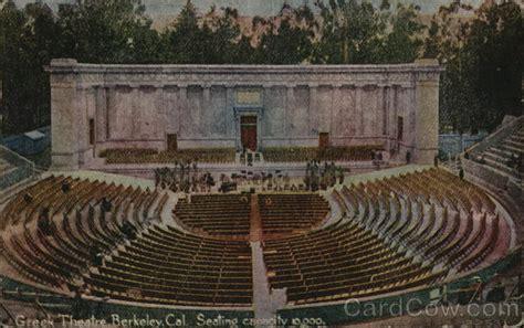 greek theatre berkeley ca postcard