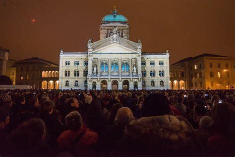 bundeshaus beleuchtung 16 das spektakel 2016 rendez vous bundesplatz