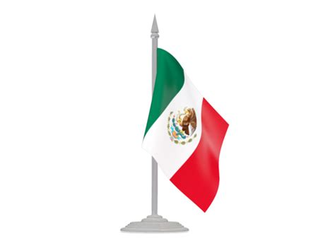 mexican flags clipart flag with flagpole illustration of flag of mexico
