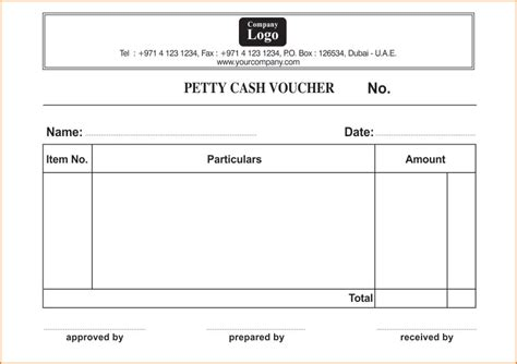 petty disbursement form template best photos of petty disbursement voucher petty