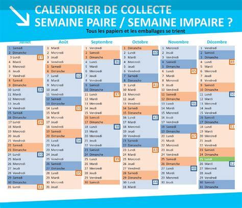 Calendrier 2017 Semaine Paire Et Impaire Collecte Des D 233 Chets Et Encombrants Mairie Hersin Coupigny