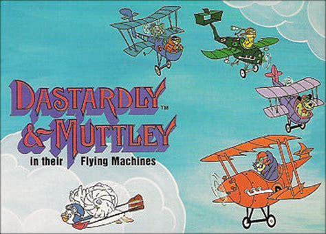 dastardly & muttley in their flying machines | hanna