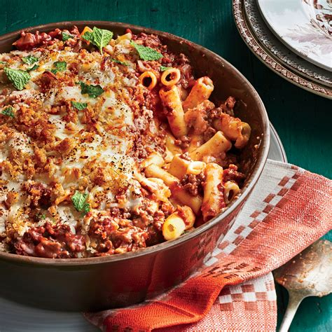greek baked ziti recipe myrecipes