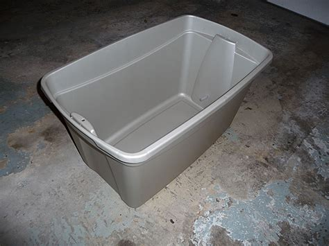 30 Gallon Planter by 30 Gallon Tote Sip Tutorial Self Watering Sub Irrigated
