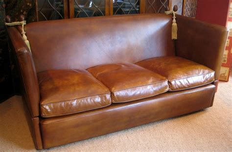 leather knole sofa leather knole sofa leather knole settee leather knoll