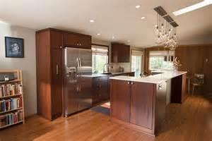 Mid Century Kitchen Cabinets Mid Century Modern Kitchen Cabinets Kitchen Midcentury With None