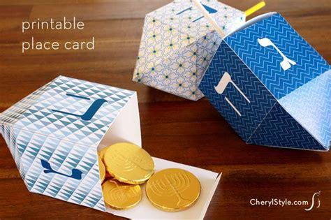 dreidel place card template best 25 printable place cards ideas on