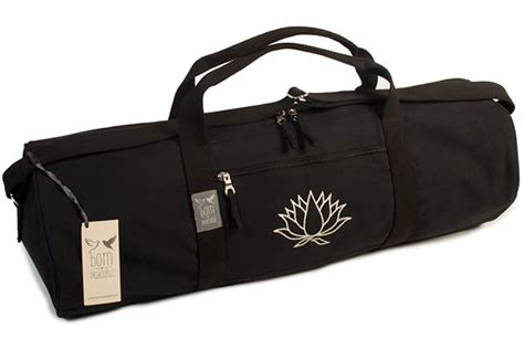 The Bag Boutiques Mat Bags by Mat Bag Lotus Flower Born Peaceful Bliss
