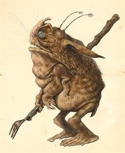 bull goblin tony diterlizzi illustrations