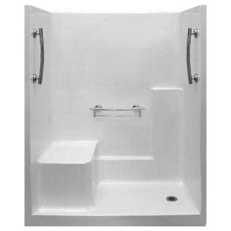 Shower Stall With Seat by Fiberglass Shower Stalls Kits Showers Bath The