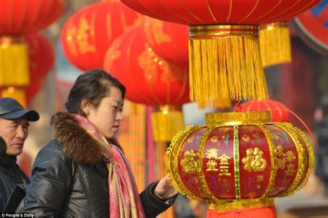 new year lanterns uk china turns into a sea of for 2017 lunar new year