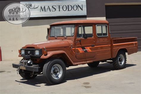 land cruiser pickup 1989 brown 4x4 truck fj land cruiser fj40 fj45 for sale
