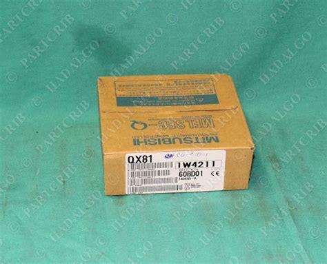 Mitsubishi Qx81 mitsubishi qx81 input module melsec plc card new partcrib