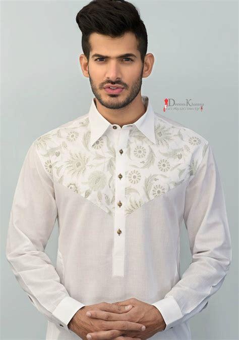 latest kurta pattern man latest eid kurta shalwar kameez designs 2016 for men