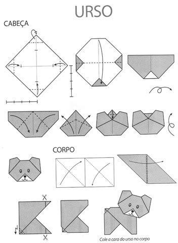 Origami Lessons - dobraduras de animais para fazer nas aulas de artes