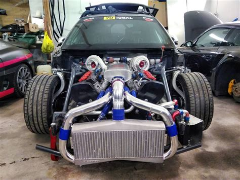 Audi Rs4 Twin Turbo by Audi Rs4 With A 1000 Whp Twin Turbo 4 2 L V8 Engine