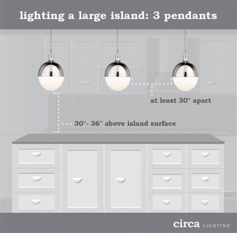 how to figure spacing for island pendants style house lighting tips size and placement guide
