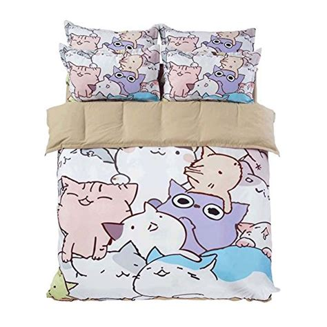 Adorable Cat Print Comforters And Bedding Sets For Cat Lovers Cat Bedding For